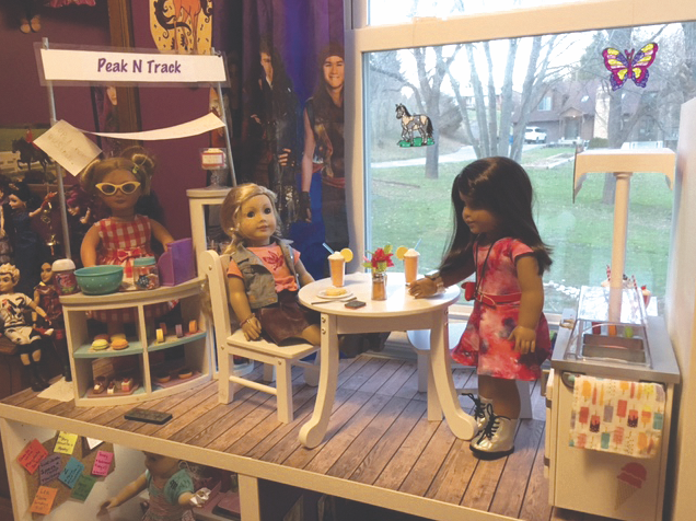 How To Turn Shelves Into An American Girl Dollhouse Washington Family Magazine