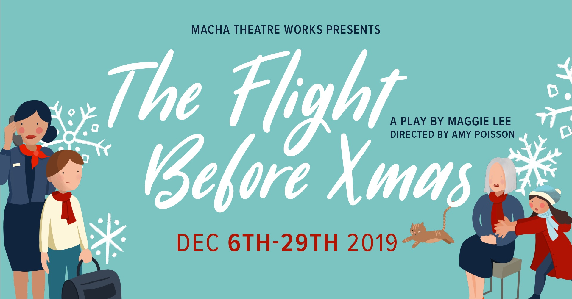 The Flight Before Xmas a play by Maggie Lee