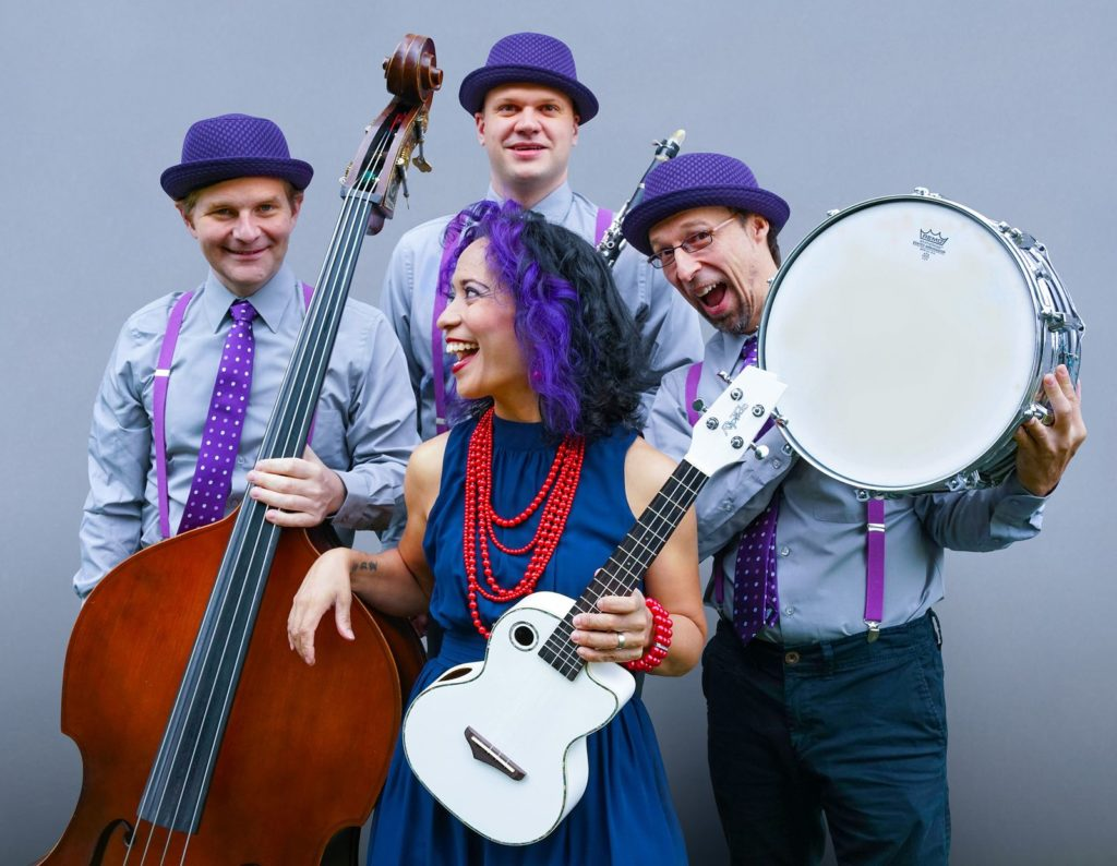 Family-friendly activities around DC this weekend include a concert by Lucy Kalantari and The Jazz Cats at AMP