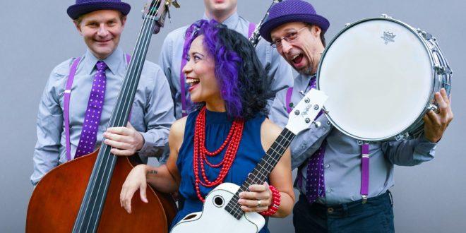 Lucy Kalantari and The Jazz Cats at AMP