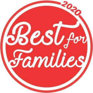 Best for Families Medallion