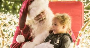 Holiday Happenings around DC includes visiting Santa at Enchant Christmas