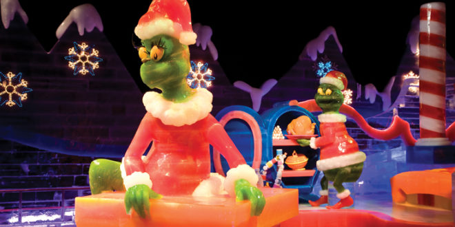 """""""How The Grinch Stole Christmas"""" on ICE!"""