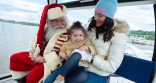 Family-friendly activities in DC this weekend include Ferris wheel rides with Santa