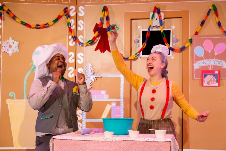 Family-friendly activities around DC, including a production of Squeakers and Mr. Gumdrop at Atlas Performing Arts Center