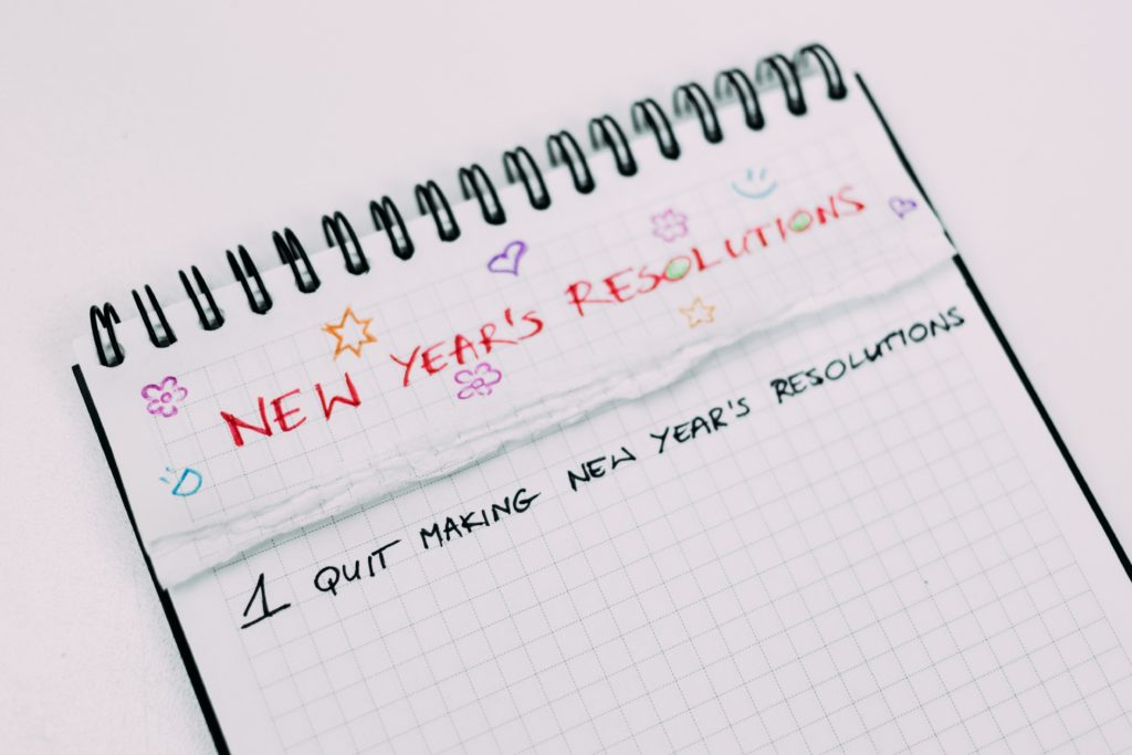Stop making New Year's resolutions and try a mantra instead