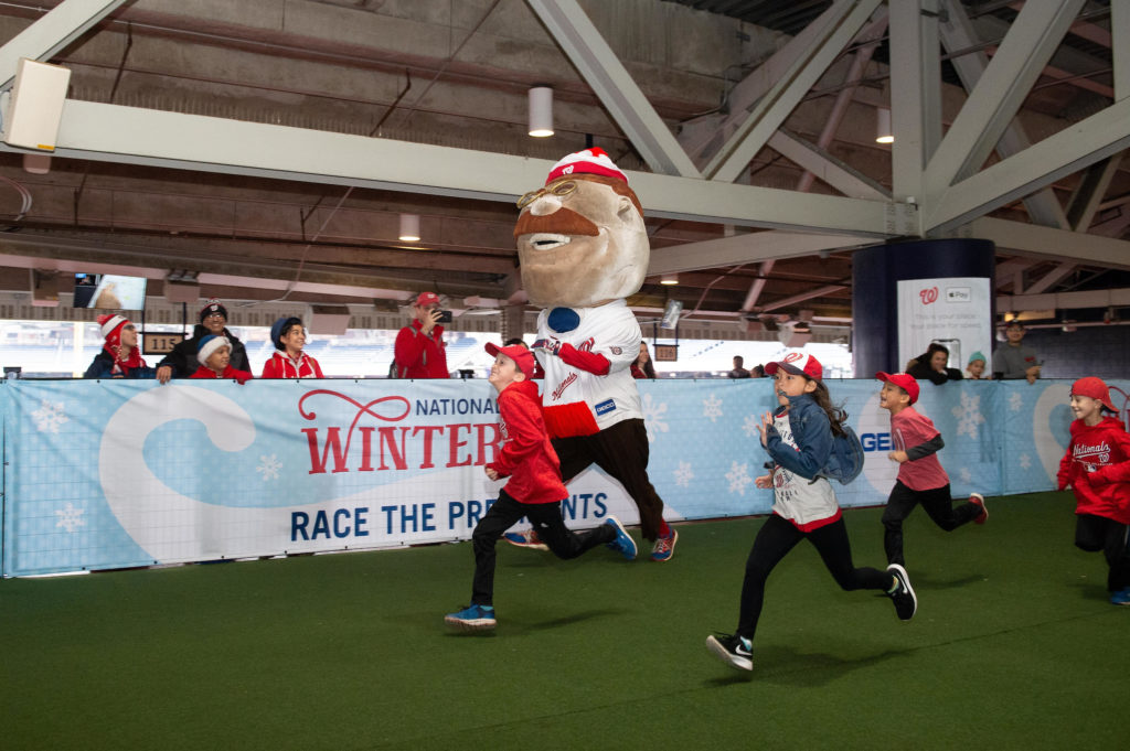 Nationals Winterfest is one of the family-friendly activities around dc this weekend