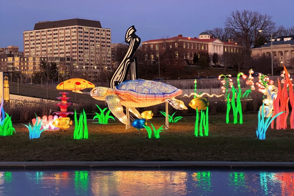 Family-friendly activities around DC this weekend includes the Winter Lantern Festival at The Reach at The Kennedy Center