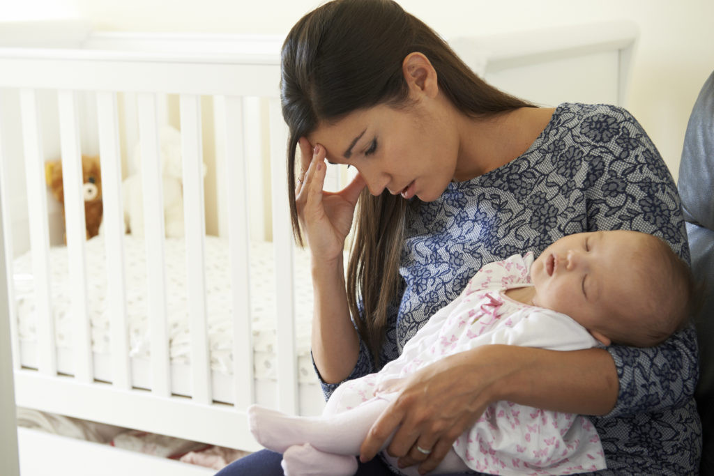 mental heath care for new moms includes recognizing and treating postpartum mood or anxiety disorders