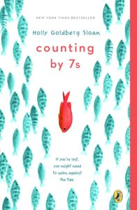 """Counting by 7s"" YA book about has kindness concepts"