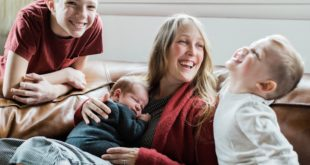 Mom life with Laicie Heeley, founder and CEO of Inkstick Media   Washington FAMILY