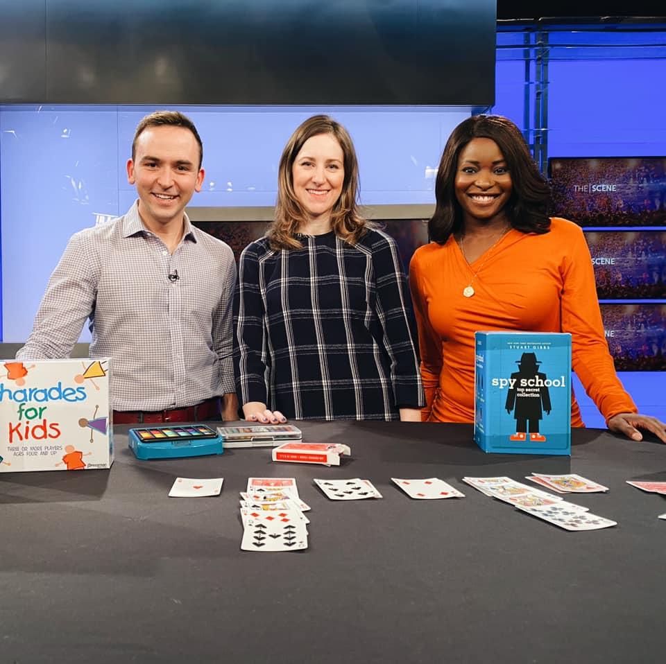 Washington FAMILY editor PJ Feinstein appeared on NBC 4 to share ideas