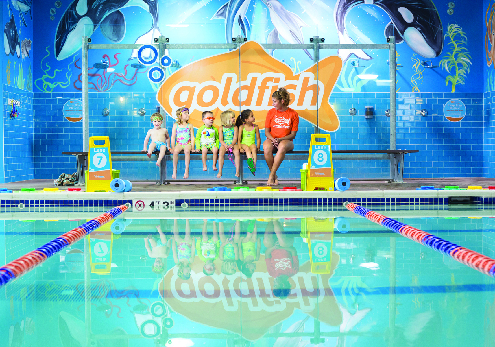 Goldfish Swim School Rockville Free Grand Opening Event