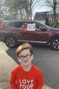 Potomac boys celebrates his birthday during coronavirus crisis with a parade of cars and bikes