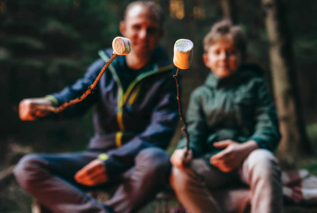 How to go backyard camping at home this summer