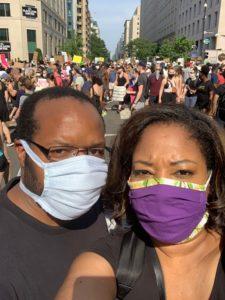 Rev. Lauren Jones took her family to the Washington D.C. Black Lives Matter protest on June 6