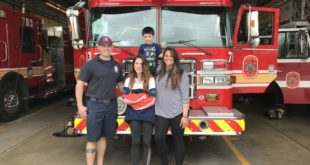 Mom Life: Rachel Calderon-Murphy, a Frederick County firefighter and mom of two