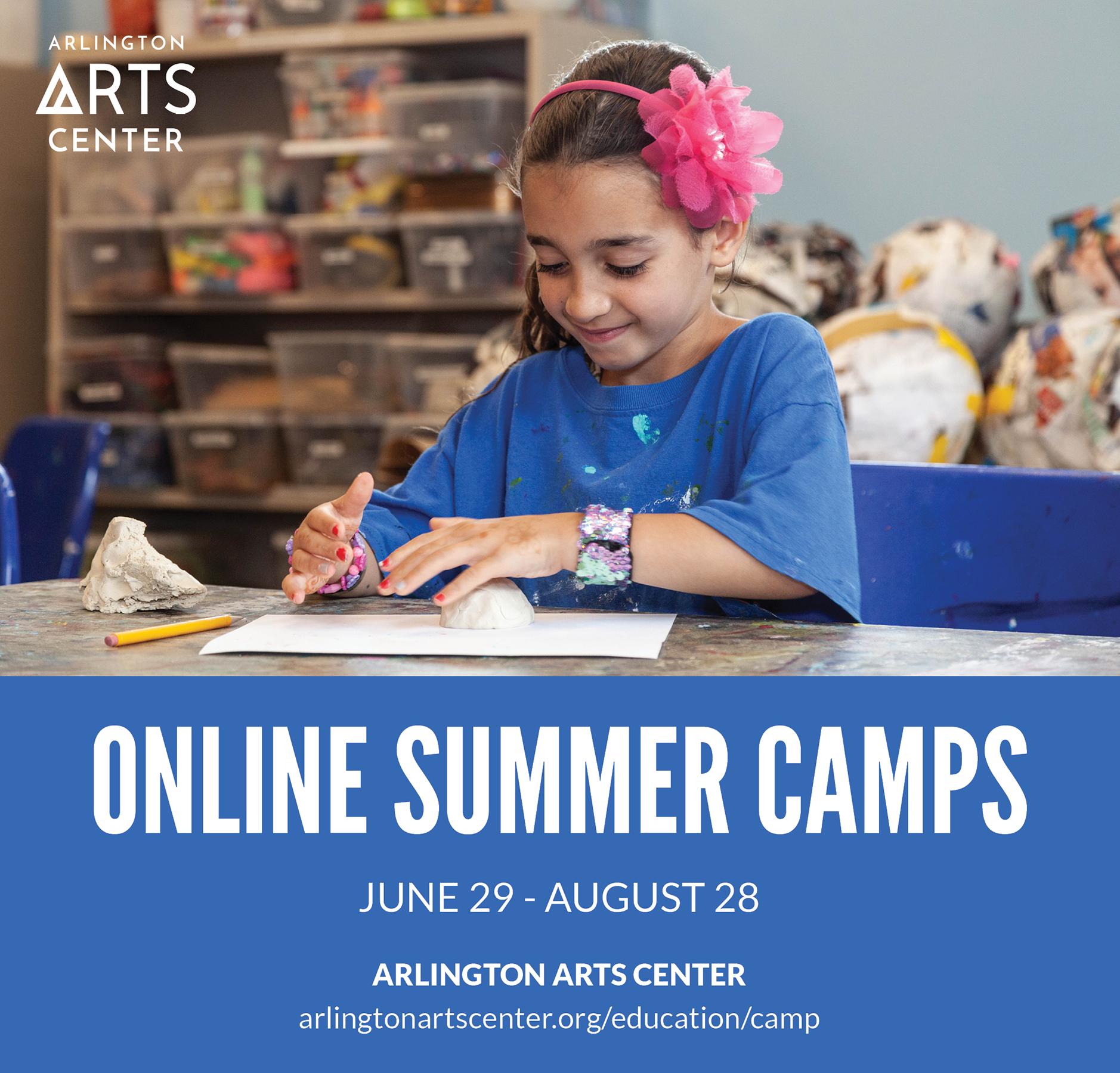 Online Summer Camps at Arlington Arts Center