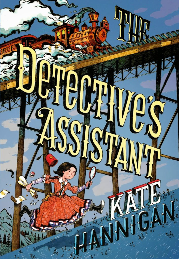 Children's book about American history: The Detective's Assistant