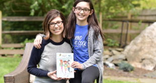 "Sophia Fox and her mom, Carrie, authors of ""Adventures in Kindness."""