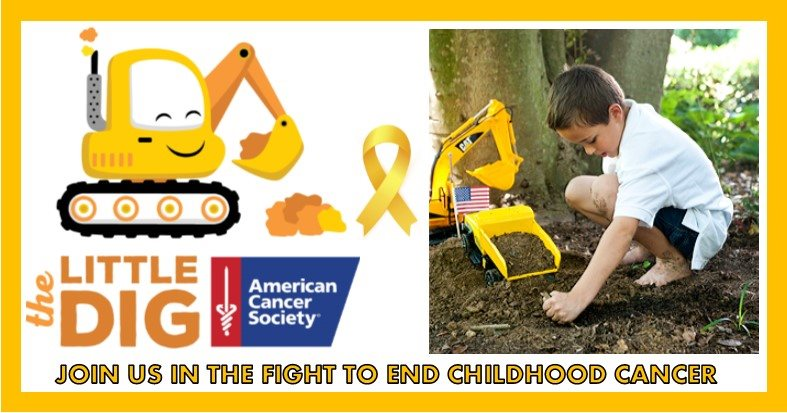 The Little Dig Invites Kids to Play in the Dirt to Fight Childhood Cancer