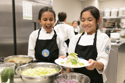 Virtual Cooking Camps for children and teens
