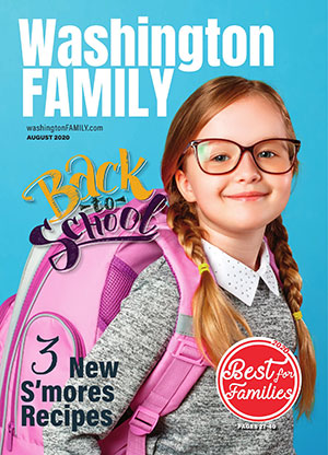 Washington FAMILY magazine August 2020 issue