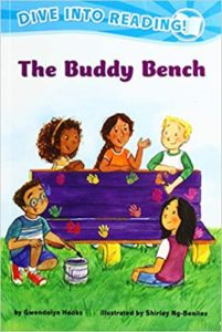 The Buddy Bench, an early reader book about school