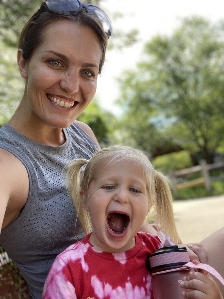 Erica Scherzer and daughter Brooke