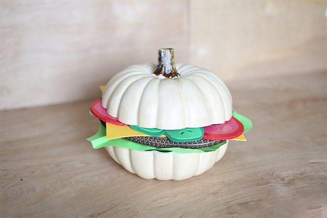 How to make a DIY Halloween pumpkin