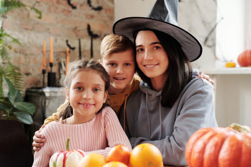 Celebrating Halloween at home