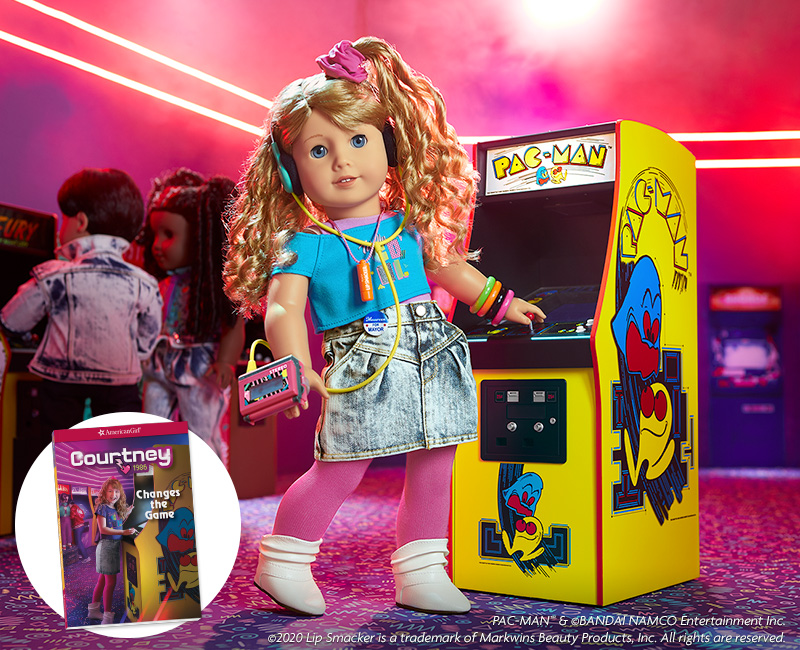 American Girl Courtney from the 1980s