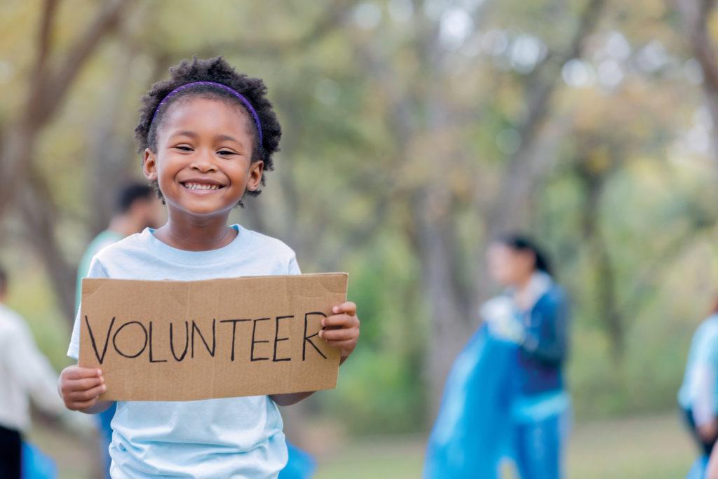 Why children should be volunteering