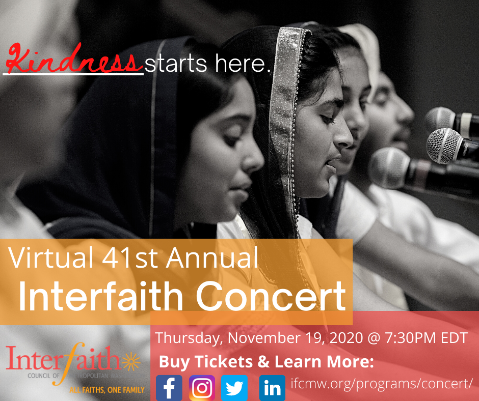 Annual (Virtual) Interfaith Concert