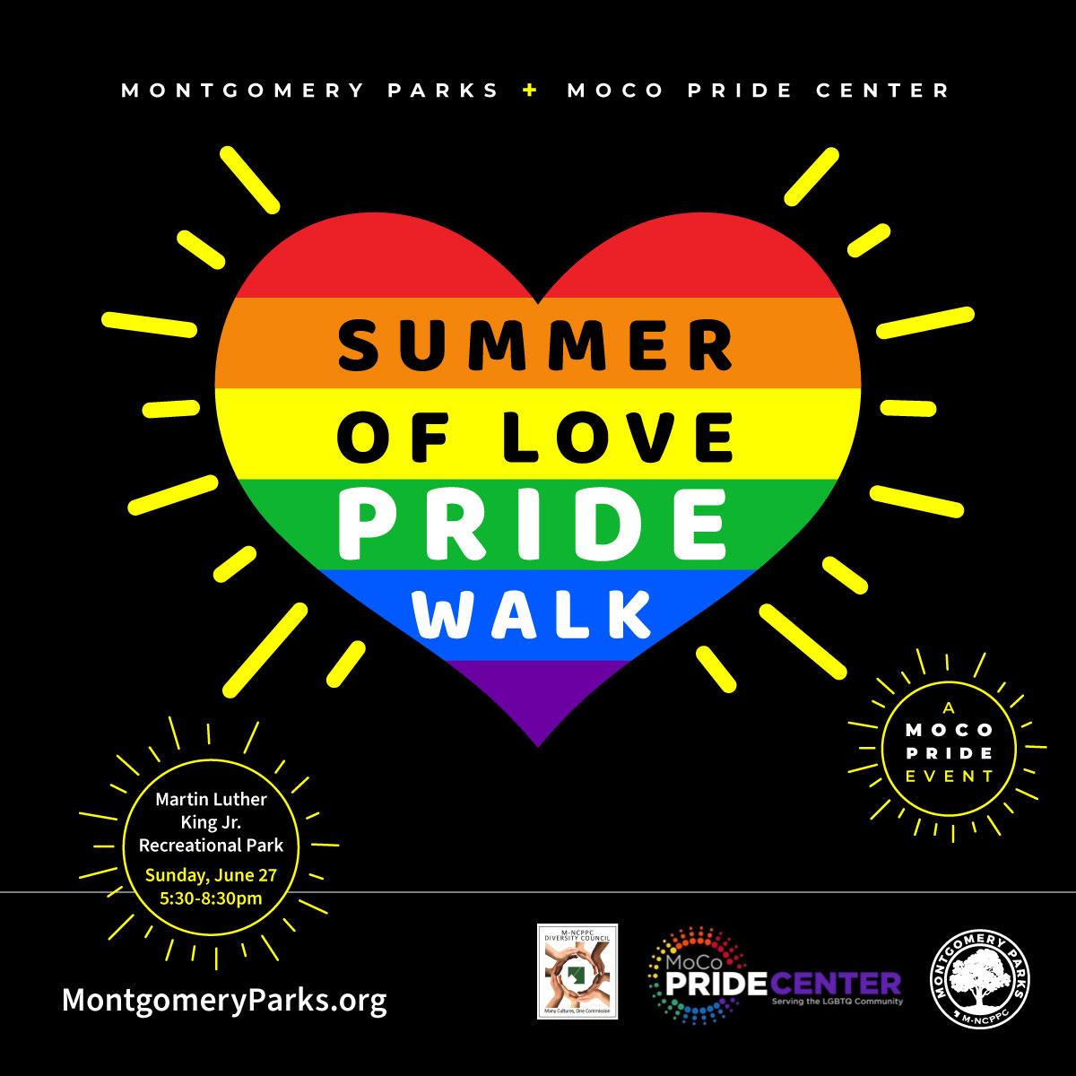 Summer of Love PRIDE Walk