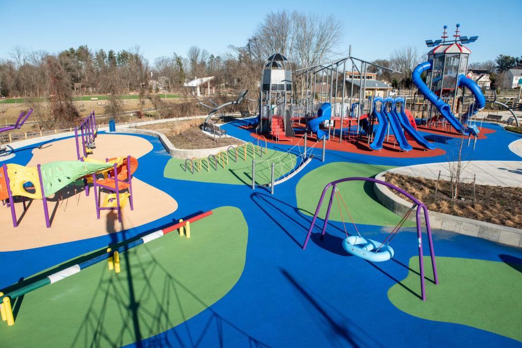 Blandair Playground Accessible Fun DC