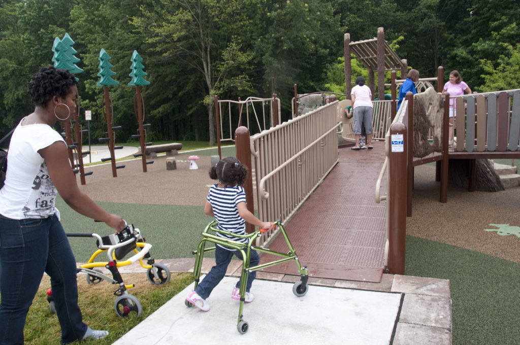 Accessible playgrounds D.C. - Chessie's Big Backyard